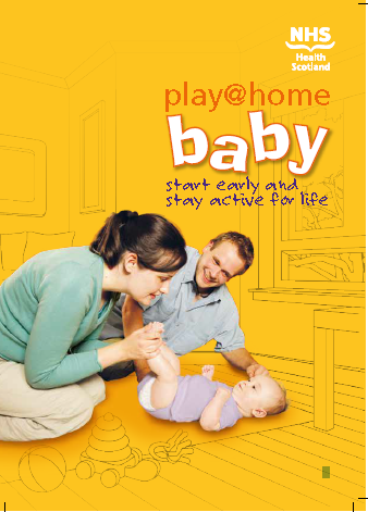 image - Play @ home baby book - For Health Visitors  only to order