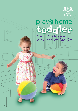 Thumbnail image for Play @ home toddler book - For Health Visitors only to order